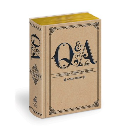 Q&A a Day : 5-Year Journal (Boot Gift)