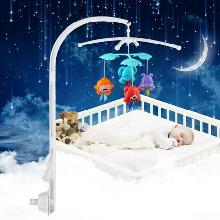 - Baby Crib Mobile Bed Bell Holder Toy Decoration Hanging Arm Bracket Infrant Gift,Mobile Bed Bell Holder, Crib Bell Holder