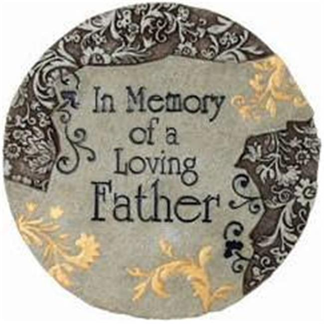 Spoontiques 13319 Memory Father Stepping Stone - image 1 of 1