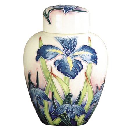 Springdale Lighting Iris Hand Painted Porcelain Jug with Lid