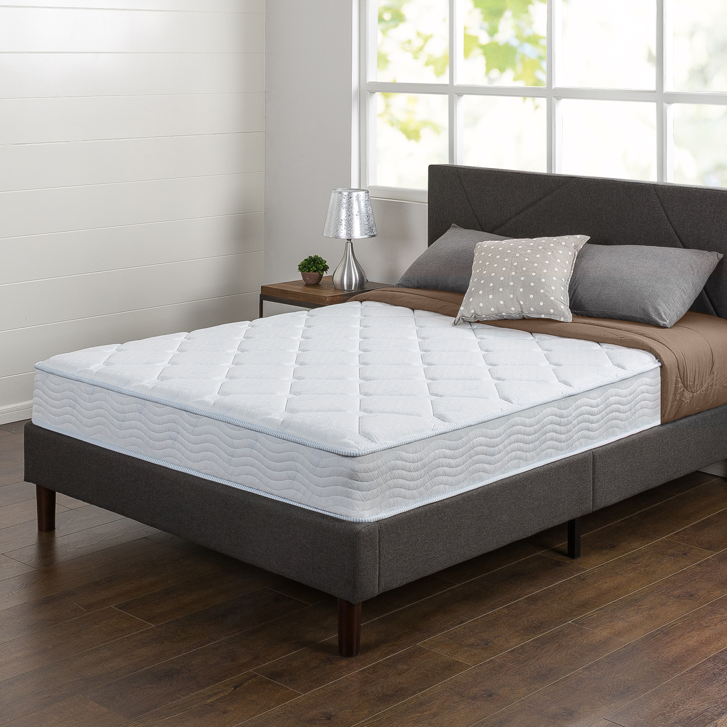 Spa Sensations 8 Inch Spring and Gel Memory Foam Mattress by Zinus
