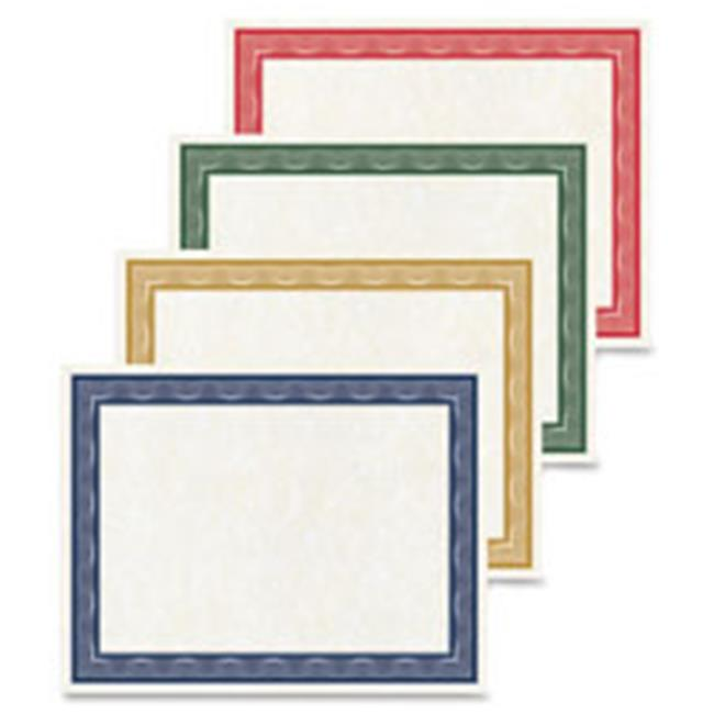 Traditional Awards Certificates, 40 Per Pack