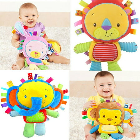 Patchkin Pals Colors & Style Stuffed Animal,Choice of  Monkey, Rabbit, Elephant OR Lion (email)