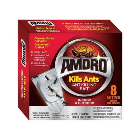 Amdro Ant Kills Ant Killer Bait Station, 8 Count