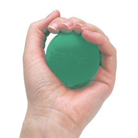 Hand Exerciser For Hand  Wrist  Finger  Forearm  Grip Strengthening And Therapy  Squeeze Ball  Stress Relief  Increase Hand Flexibility  And Relieve Joint Pain  Green  Medium Usa Brand Theraband