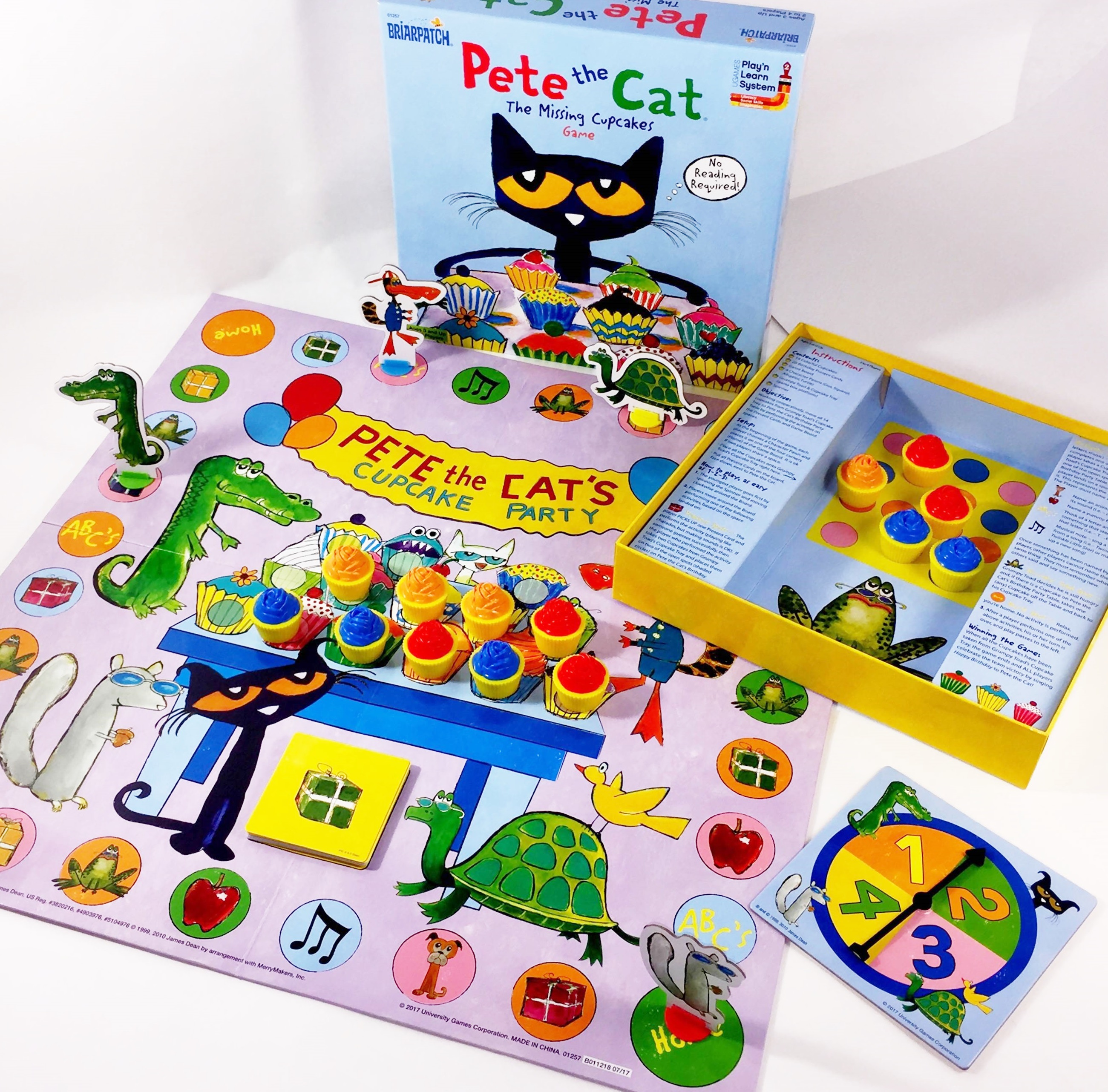 Pete The Cat Missing Cupcakes Game Walmart Com