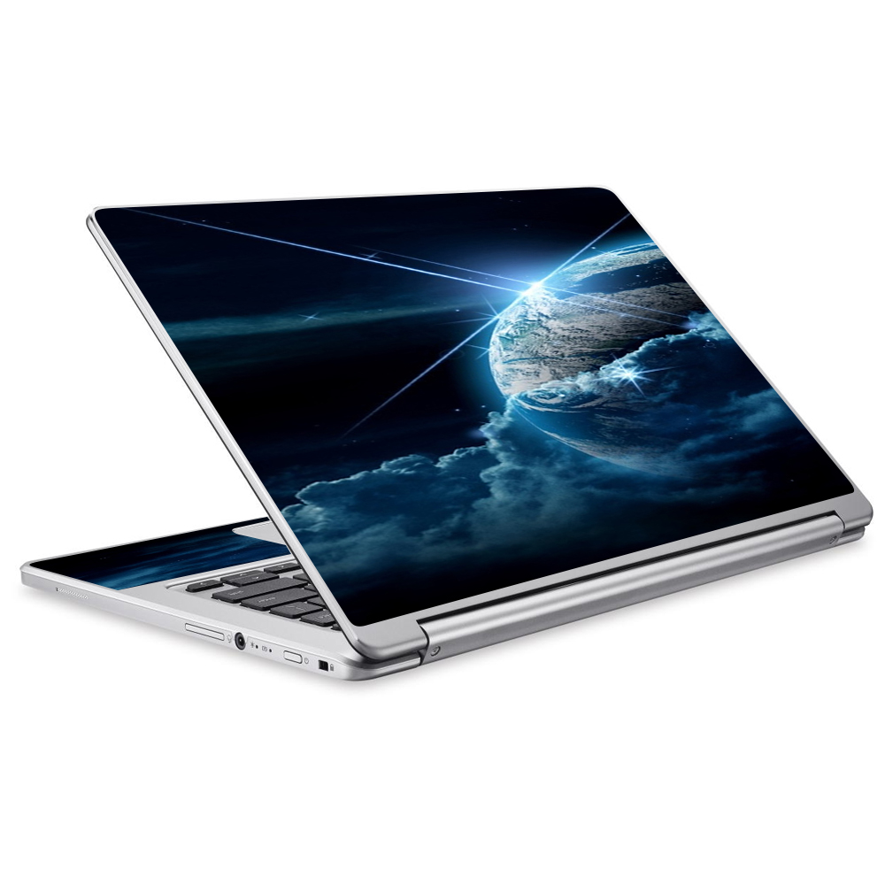 Skins Decals For Acer Chromebook R13 Laptop Vinyl Wrap / Earth Wrapped In Clouds
