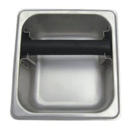 Knock Box Rubber (Update International Commercial Grade Stainless Steel Espresso Knock Box 7