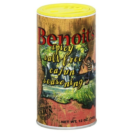 Benoits Best Spicy Salt-Free Seasoning 12 oz