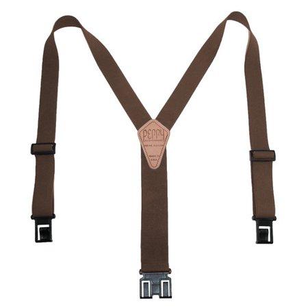 Original Belt Perry Suspenders Clip-On Suspender - All Colors, Sizes & (Best Suspenders For Tool Belt)