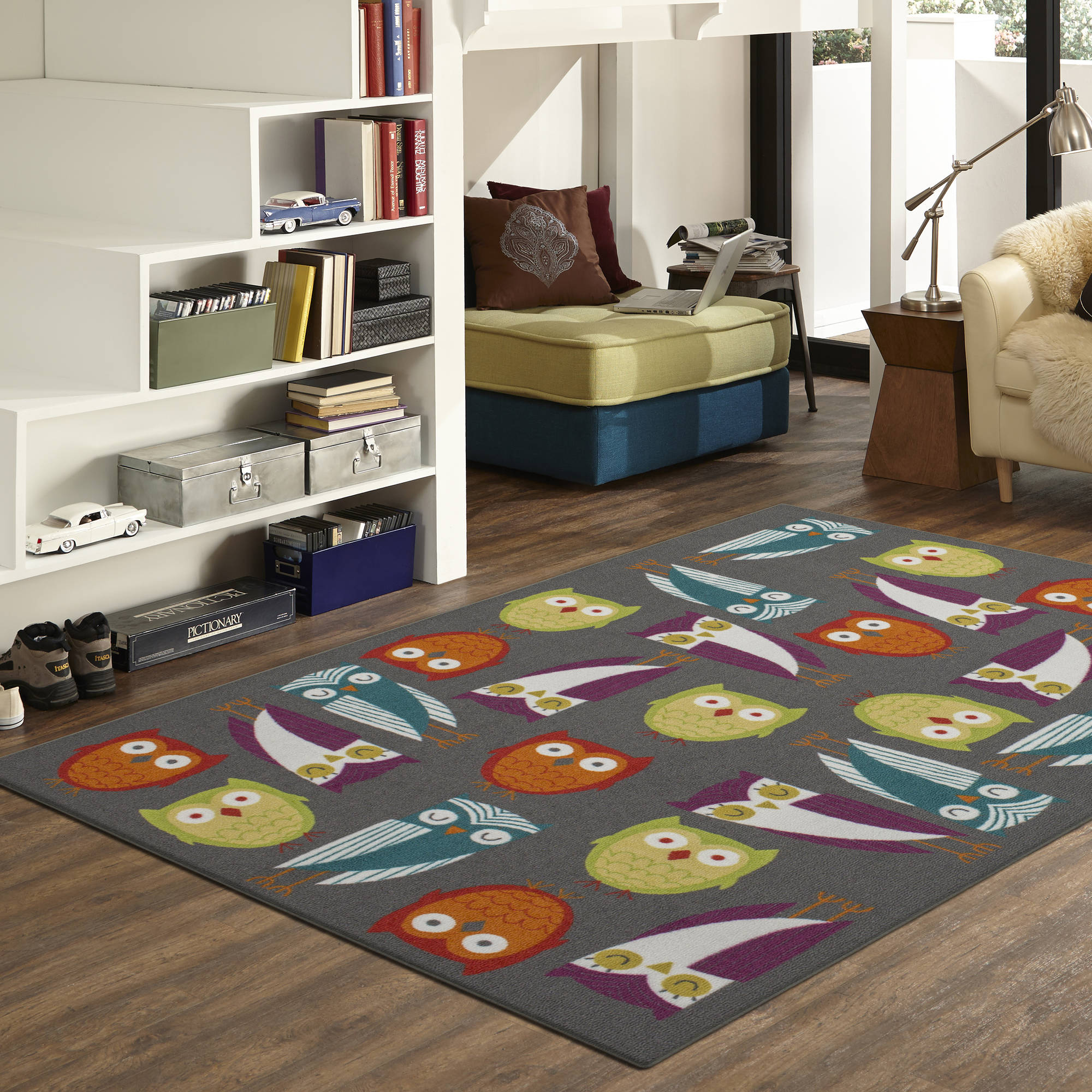 Mainstays Woodland Friends Area Rug
