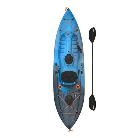 Lifetime Tamarack Angler 10 ft Fishing Kayak (Paddle Included), Azure Fushion, PICK UP TODAY ONLY