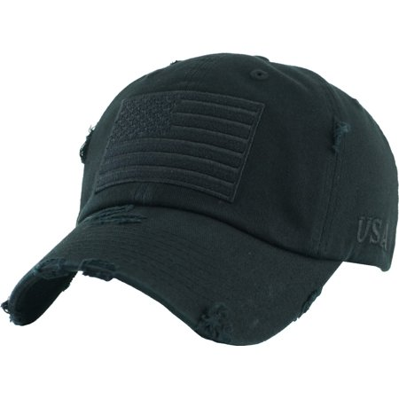 5d61a2530b6 Tactical Operator With USA Flag Patch US Army Military Baseball Cap  Adjustable - Walmart.com