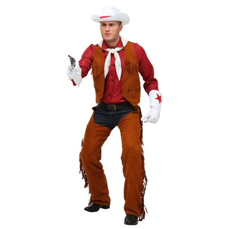 Adult Plus Size Rodeo Cowboy Costume (Rodeo Cowboy Costume)