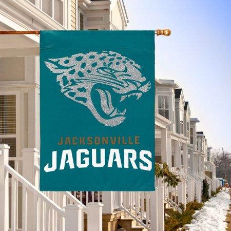 Jacksonville Jaguars Garden (Jacksonville Jaguars Glitter Suede Garden Flag - No)