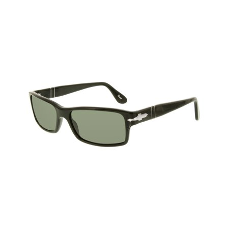Men's Polarized PO2747S-95/48-57 Black Rectangle (Persol 2747s Polarized)