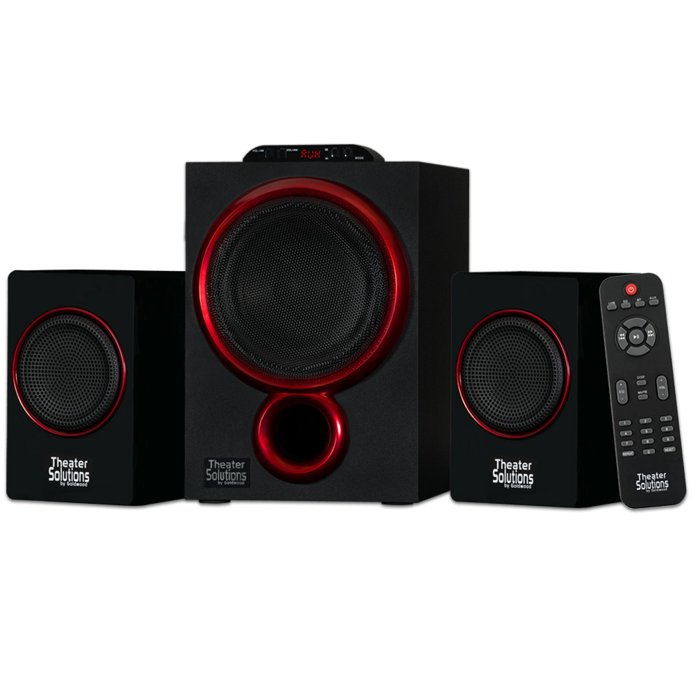 Theater Solutions TS212 Bluetooth 2.1 Computer, Gaming, Multimedia Speaker System