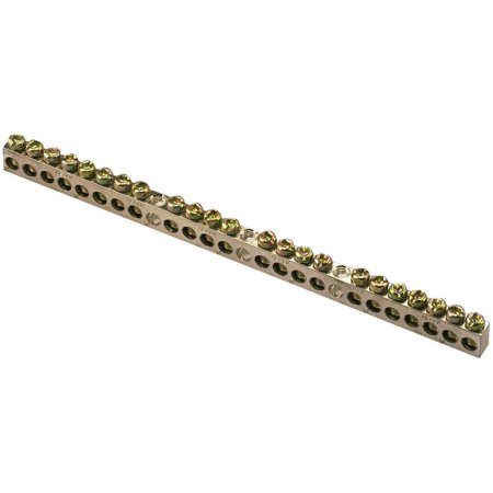 - Square D PK23GTACP Ground Bar Kits, Aluminum, 23 Terminals