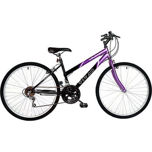 "26"" Titan Wildcat Women's Mountain Bike, Purple & Black"