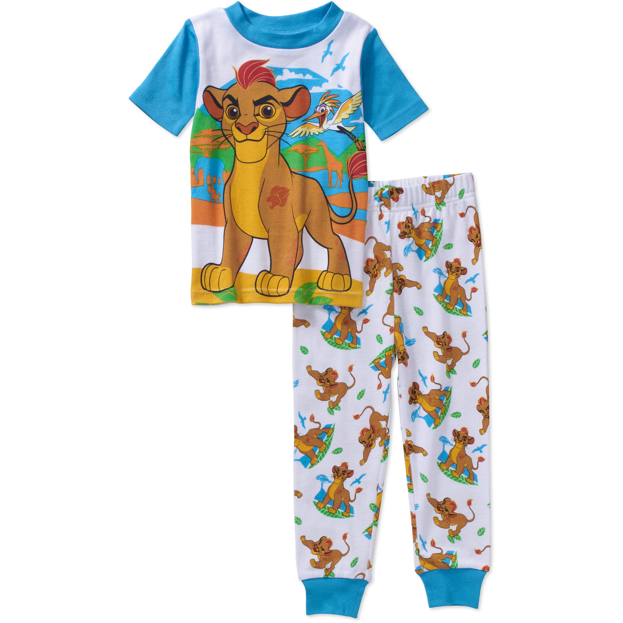 The Lion Guard Toddler Boys' Licensed Cotton Pajama Sleepwear Set
