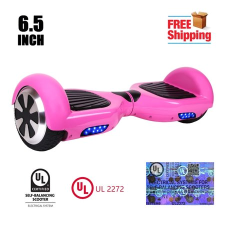 Hoverheart Ul 2272 Listed 6 5 Inch Hoverboard Two Wheel Electric Self Balancing Scooter Pink
