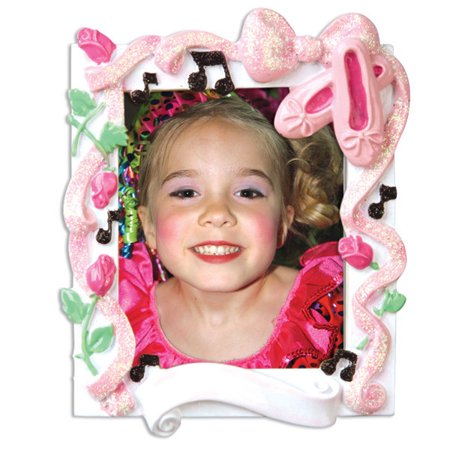 Dance Recital Picture Frame Personalized Christmas Ornament DO-IT-YOURSELF ()