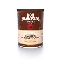 Don Francisco's Hawaiian Hazelnut Flavored Ground Coffee, 12 oz