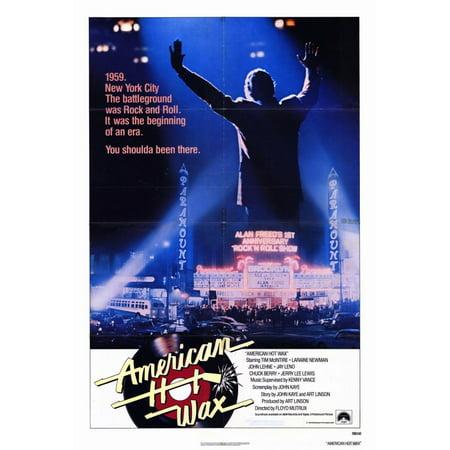 1978 Halloween Movie Poster (American Hot Wax (1978) 11x17 Movie)