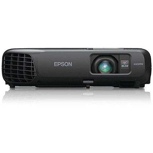 Epson V11H551120 PowerLite 1222 Multimedia Projector, 3000 Lumens, 1024 x 768 Pixels, 1.2x Zoom