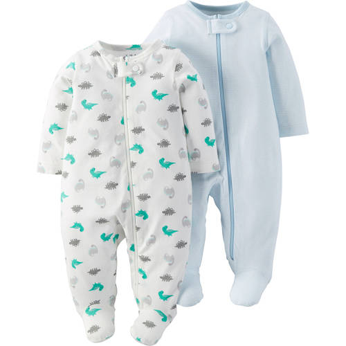 Child Of Mine By Carter's Newborn Baby Boy Sleep N Play, 2-Pack
