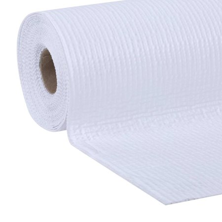 EasyLiner Smooth Top Shelf Liner, White, 20 In. x 18 (Rail Liner)
