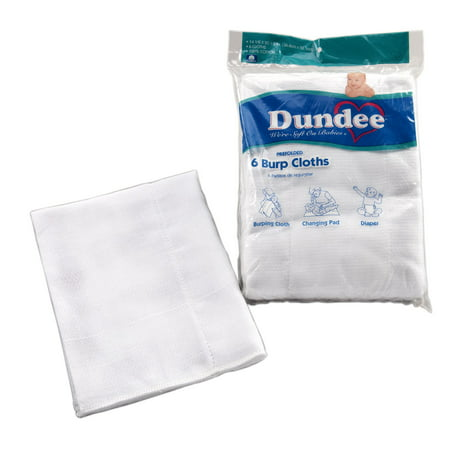 Carters Burp Cloth (Dundee Burp Cloths 6pk )
