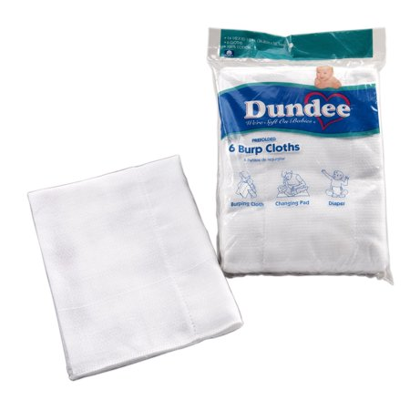 Carters Burp Cloth (Dundee Burp Cloths 6pk)
