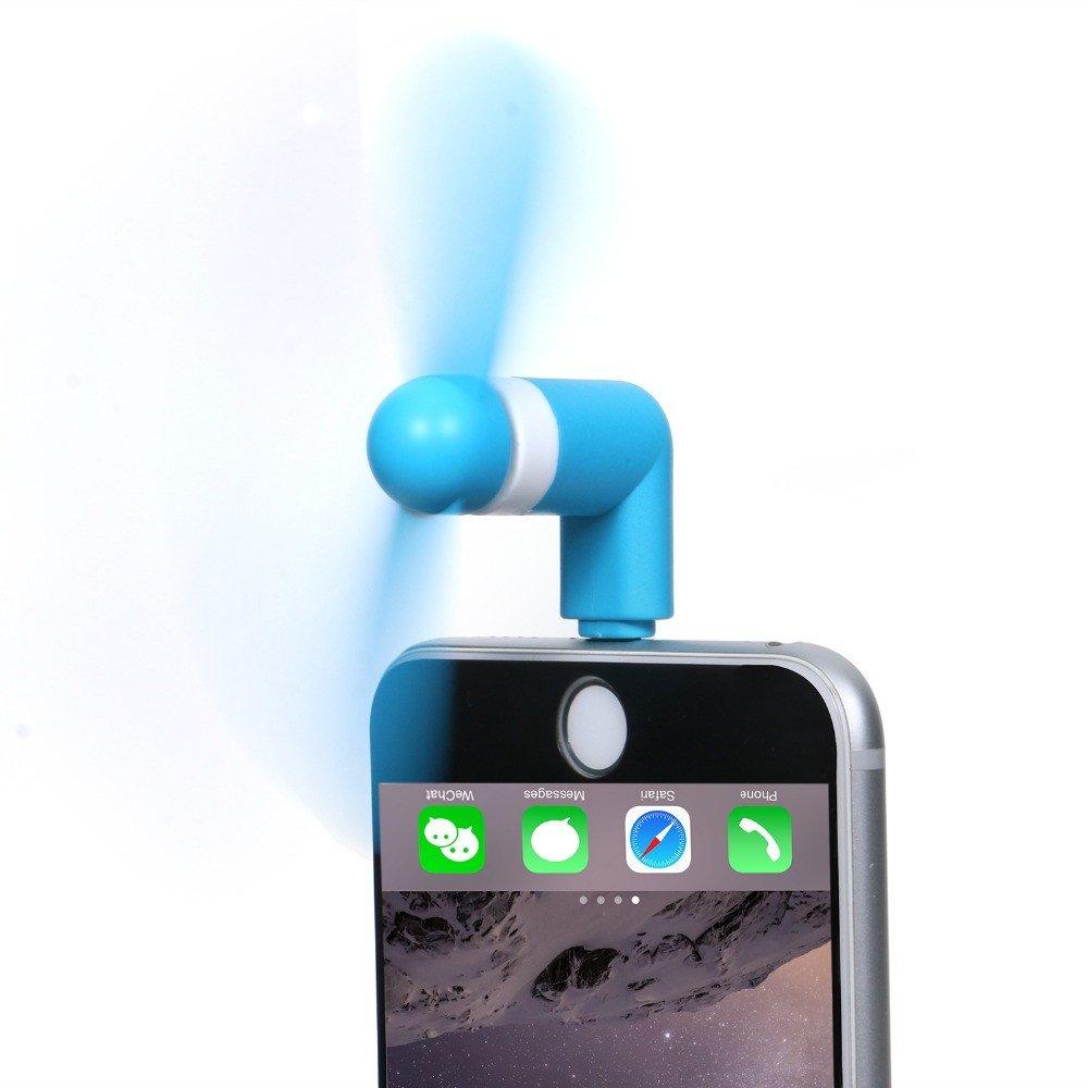 Portable Apple Iphone Se 5 5s 6s 6s Plus Cooling Fan Blue Use