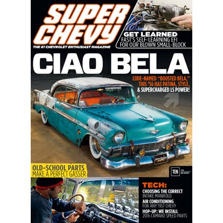 Super Chevy   Magazine Subscription  Save 75