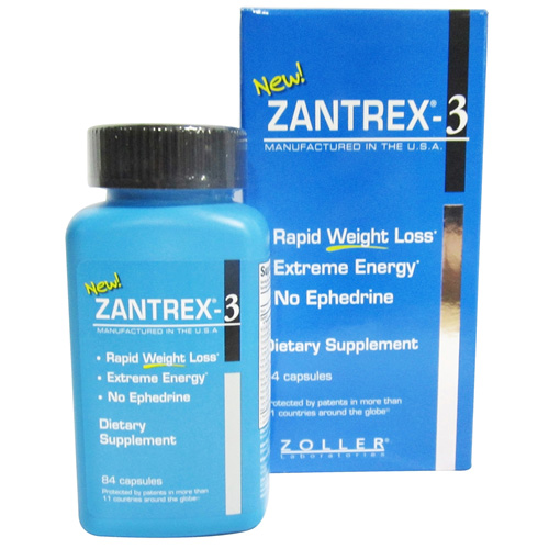 Zoller Lab Zantrex 3 Capsules, Dietary Supplement -  84 Ea, 2 Pack