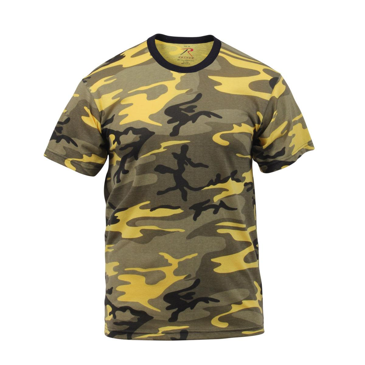 Stinger Yellow Camouflage T-Shirt by Rothco