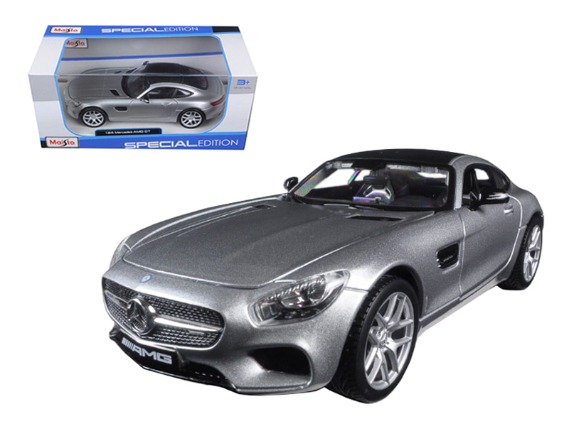 Mercedes AMG GT Silver 1 24 Diecast Model Car by Maisto by Maisto