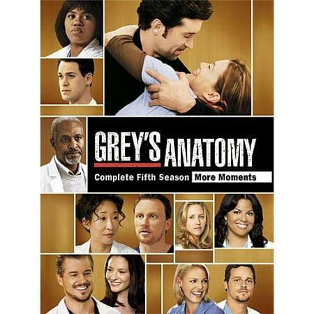Greys Anatomy  Complete Fifth Season  Widescreen