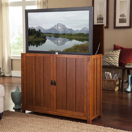 touchstone elevate lift tv stand. Black Bedroom Furniture Sets. Home Design Ideas