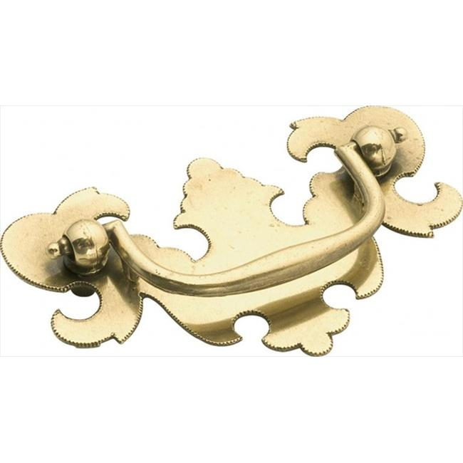 Hickory Hardware P8257-LP 2. 5 inch Manor House Lancaster Hand Polished Cabinet Bail Pull