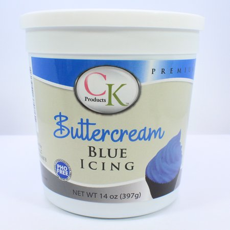 Blue Buttercream Icing - National Cake Supply - 14 (Buttercream Icing Butter)