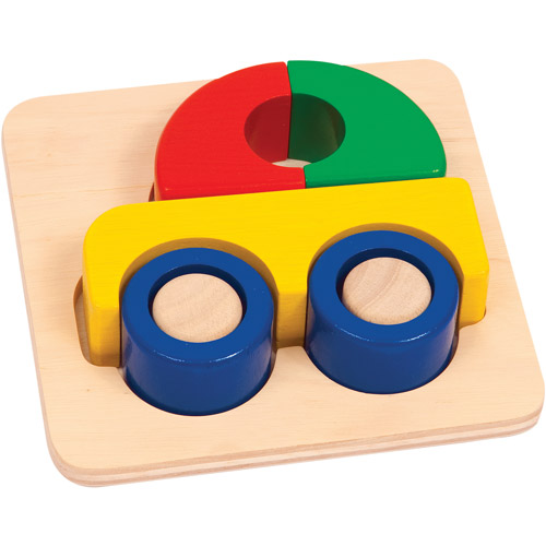 Guidecraft Primary Puzzle, Car