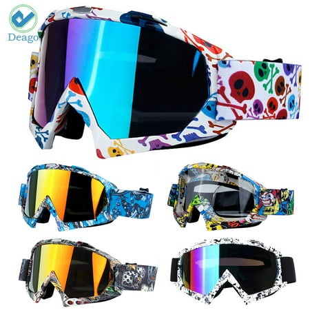 Deago Ski Goggles Over Glasses Ski Snowboard Snow Goggles For Men Women & Youth UV Protection (Womens Ski Glasses)