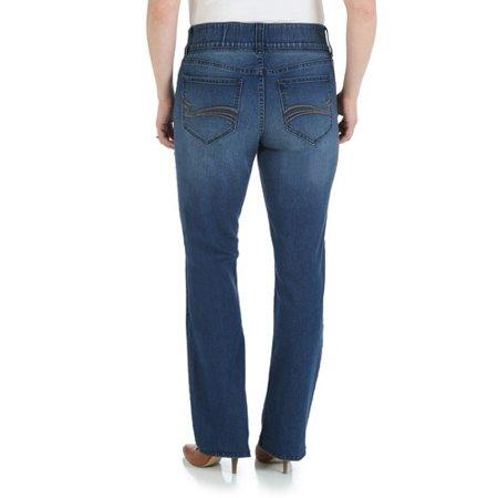 b01e0a66 Lee Riders - Women's Waist Smoother Straight Leg Jean - Walmart.com