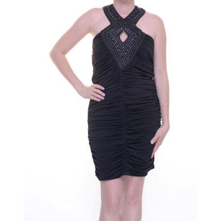 Crystal Doll Black Dress Sleeveless Size 13 NWT - Movaz