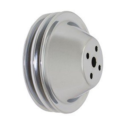Speed FX S73-8952 Water Pump Pulley Short Water Pump for 1968-1968 Buick GS (Buick Water Pump Pulley)