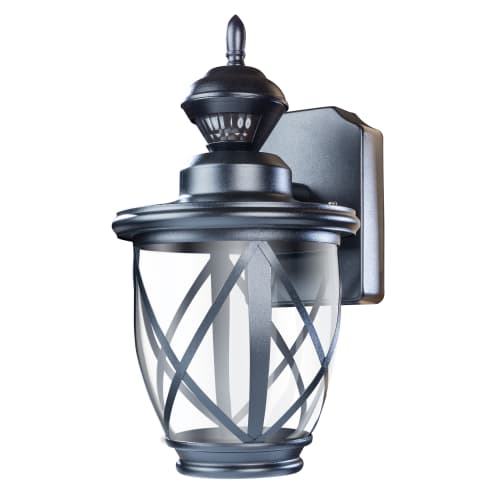 "Heath Zenith HZ-4630 Allure Single Light 10-9/10"" Tall LED Outdoor Wall Sconce with Motion Sensor"