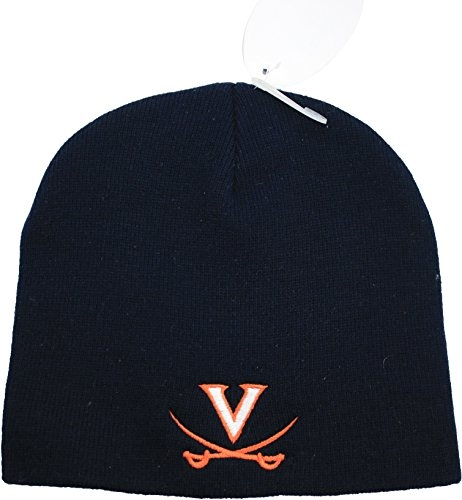 NCAA Virginia Cavaliers Knit Beanie Hat Black by NCAA