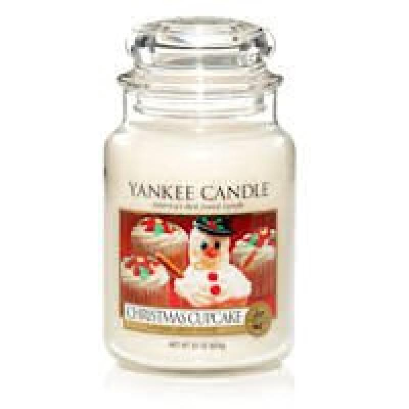 Yankee Candle Company Christmas Cupcake Jar Candle - Large 22 ounce